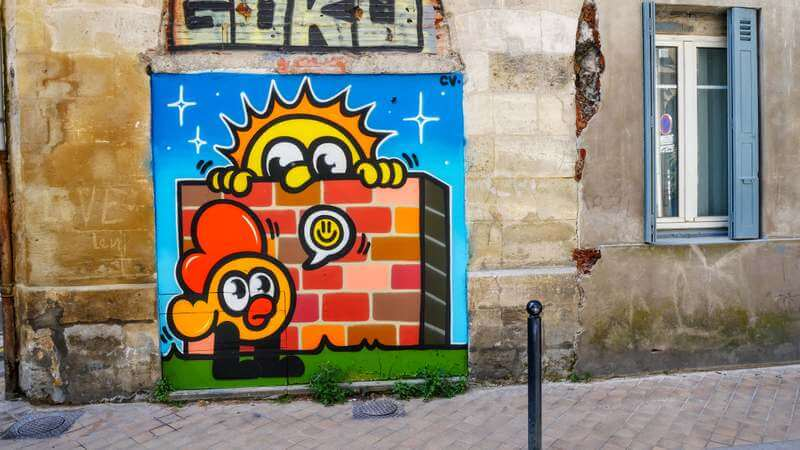 monsieur poulet - artiste streetart - bordeaux