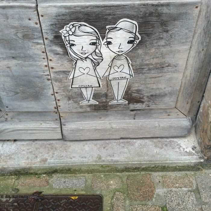 COSTAH streetart à bordeaux