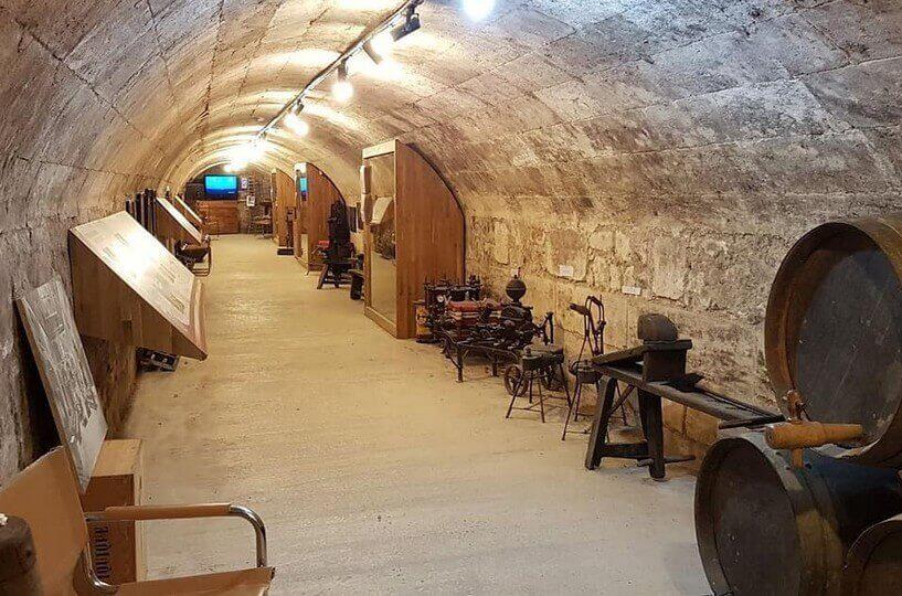 Le musée du vin & DU négoce