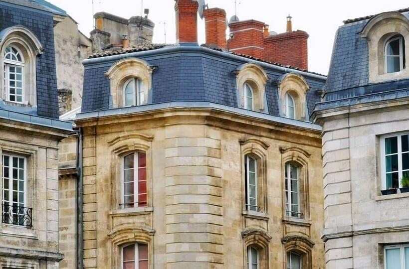 L'encoche sur les quais à Bordeaux