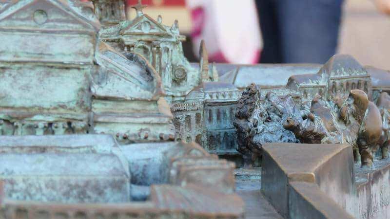 les plans reliefs de Bordeaux