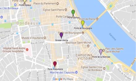 Les portes de Bordeaux