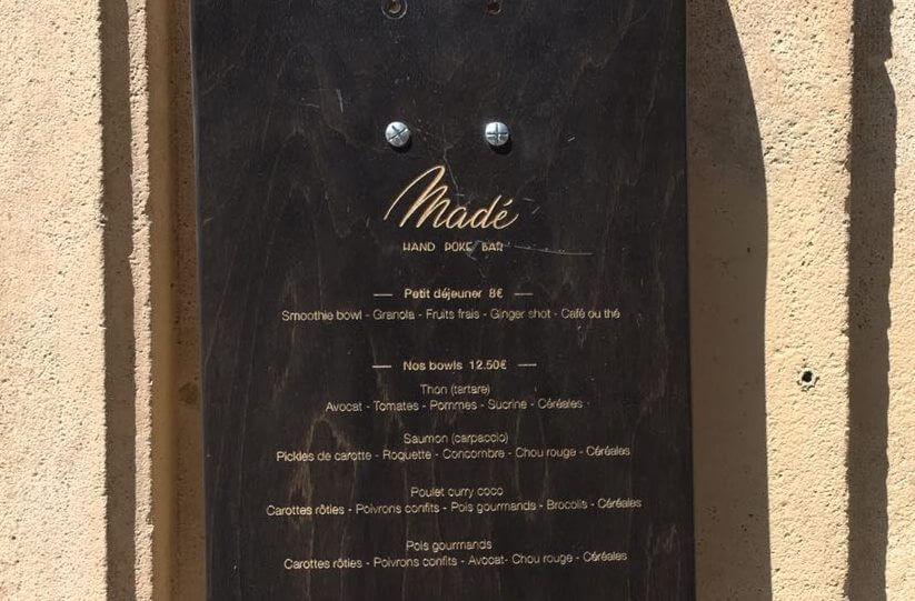 Madé Hand Poke Bar