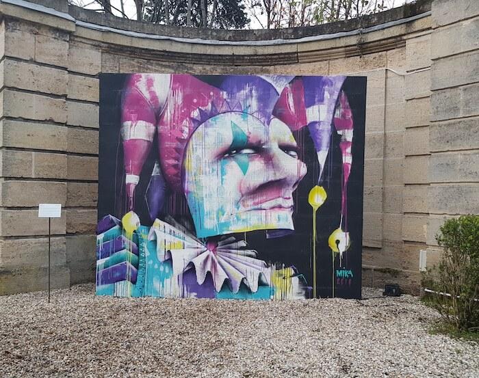 MIKA artiste street art à Bordeaux