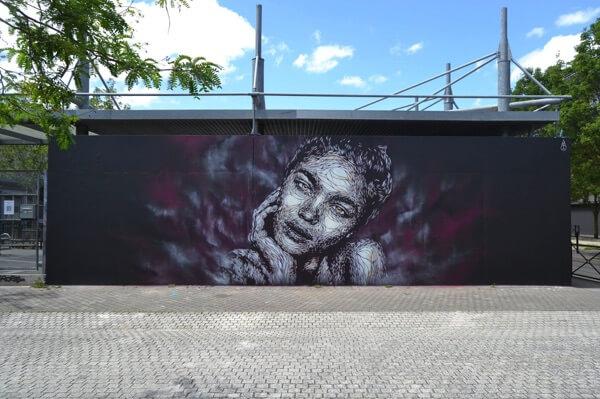 NASTI artiste street art à Bordeaux