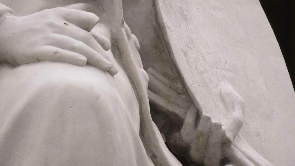 la statue de Rosa Bonheur au Jardin Public