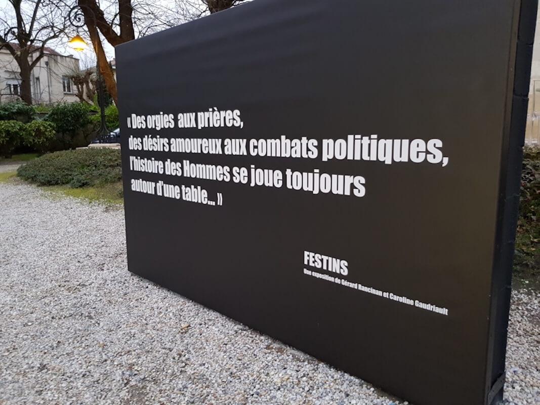 Festin exposition de Racinan et Gaudriault