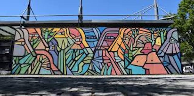 le mur de bordeaux - streetart à bordeaux - bordeaux confidentiel