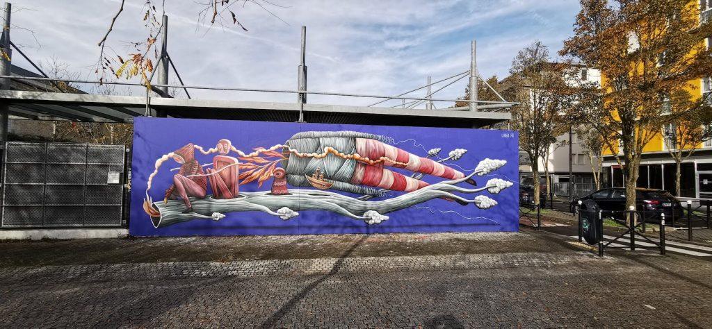 loraine motti - streetart à bordeaux - bordeaux confidentiel