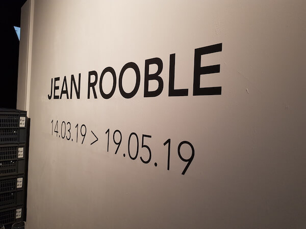 exposition jean rooble - zone blanche
