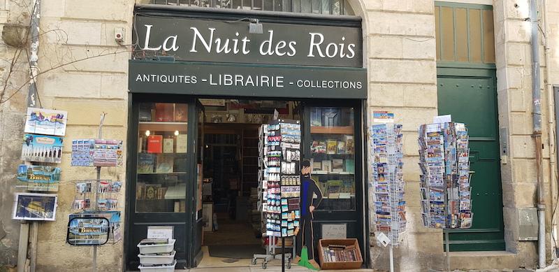 librairie - la nuit des rois - bordeaux confidentiel
