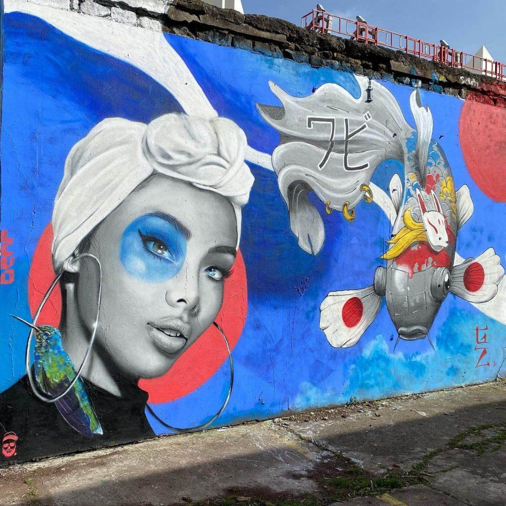 derf graffiti