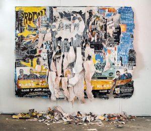 lacération street art