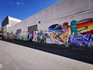 une rue dédiée au street art