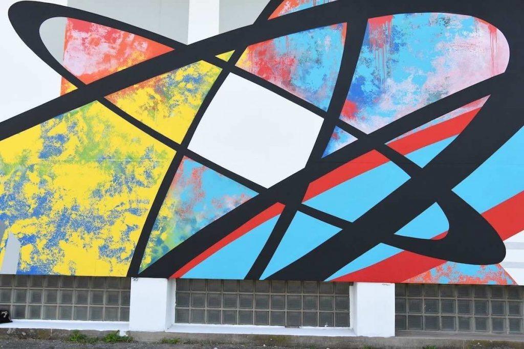 oeuvre de la street artiste LADY M