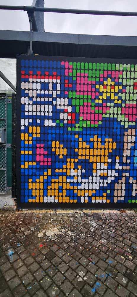 le mur de bordeaux - réalisation de speedy graphito